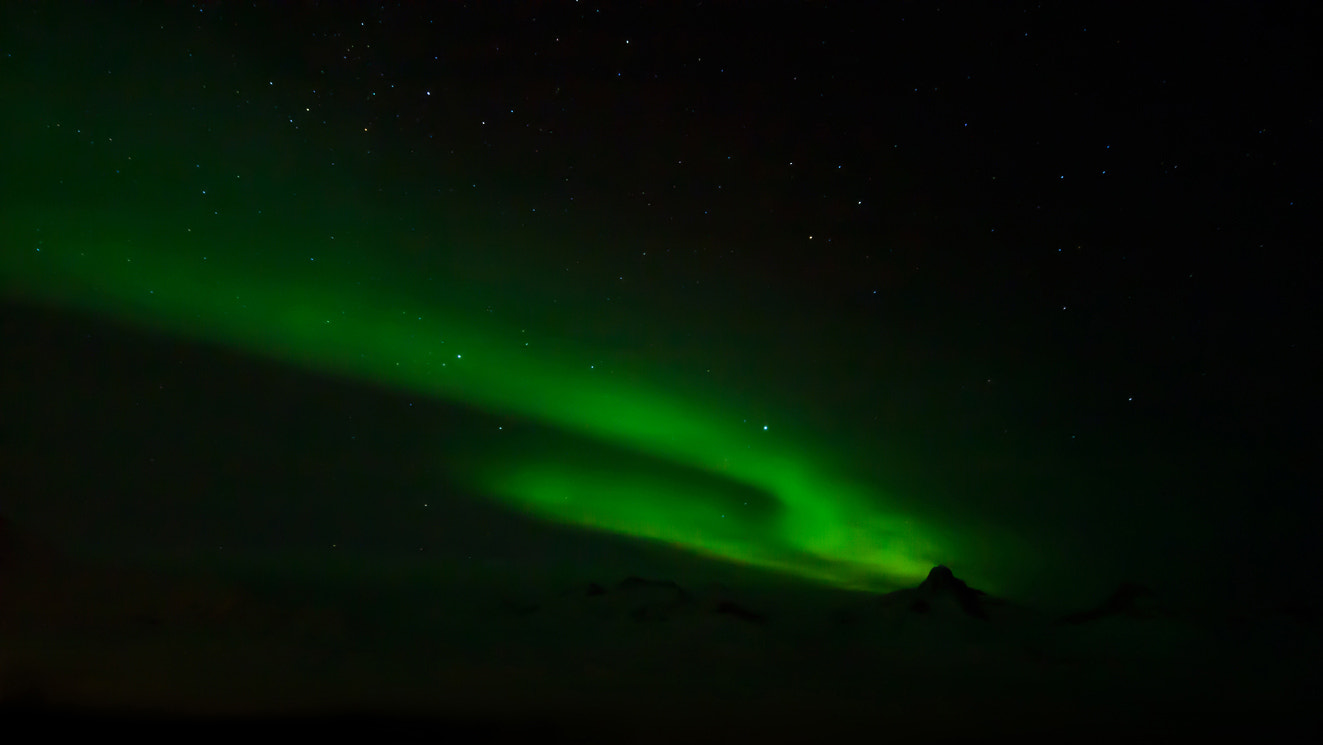 Photograph EAST GREENLAND - NORTHERN LIGHTS by Moreno Bartoletti on 500px