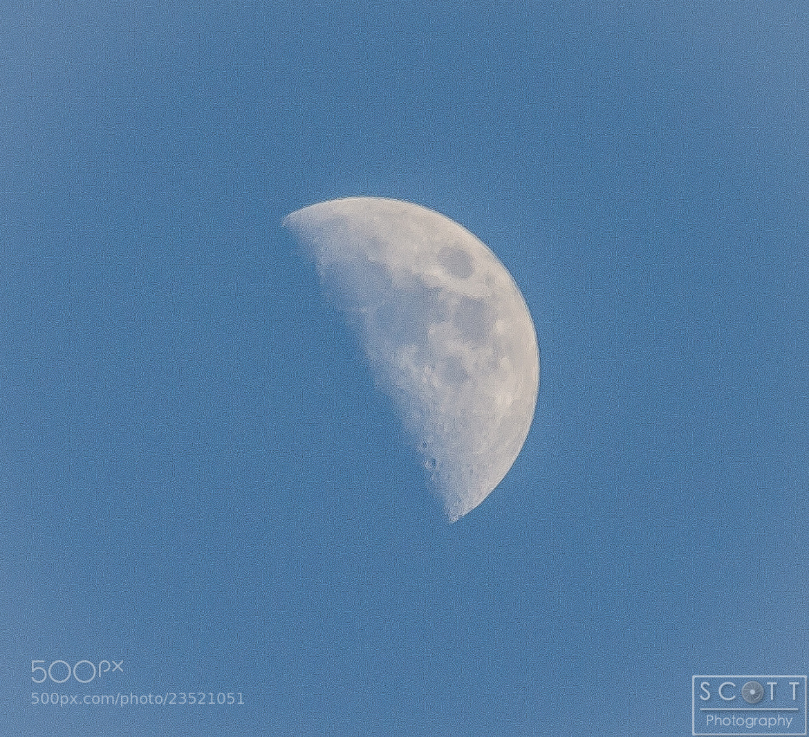 Photograph Moon by Rob Scott on 500px