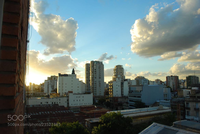 Photograph sunset @ home by Germán Hohmann on 500px