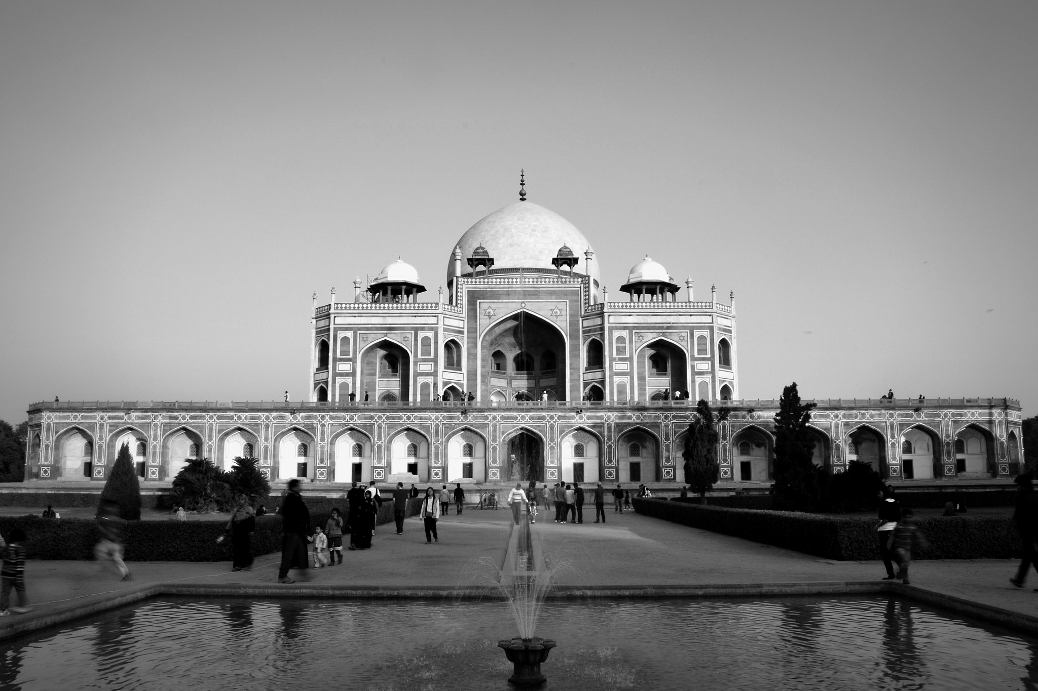 Photograph Humayun's tomb by Bikalpa Pandey on 500px