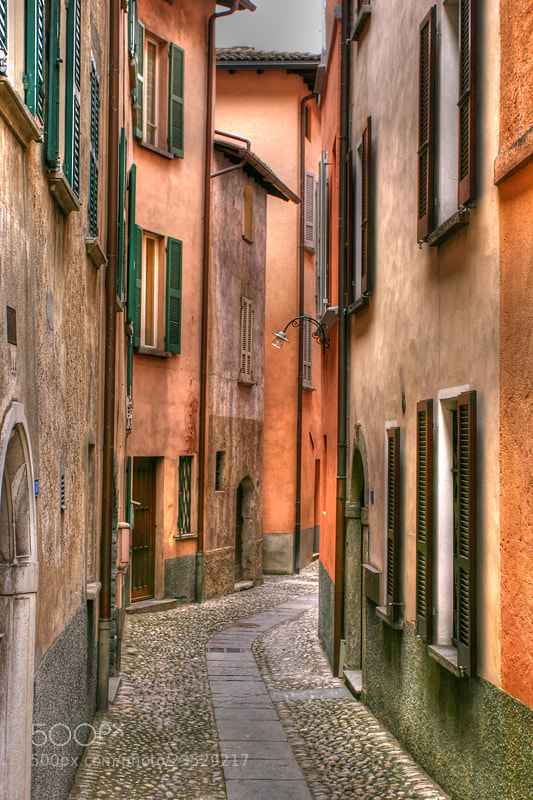 Photograph Street of Bissone by Michele Galante on 500px