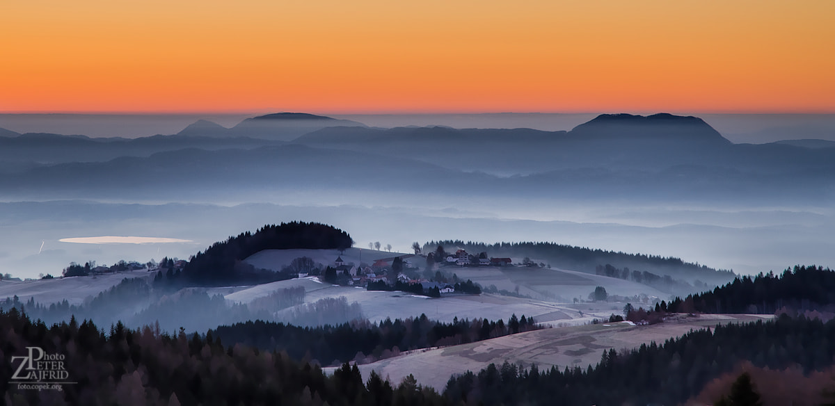 Photograph Misty hills by Peter Zajfrid on 500px