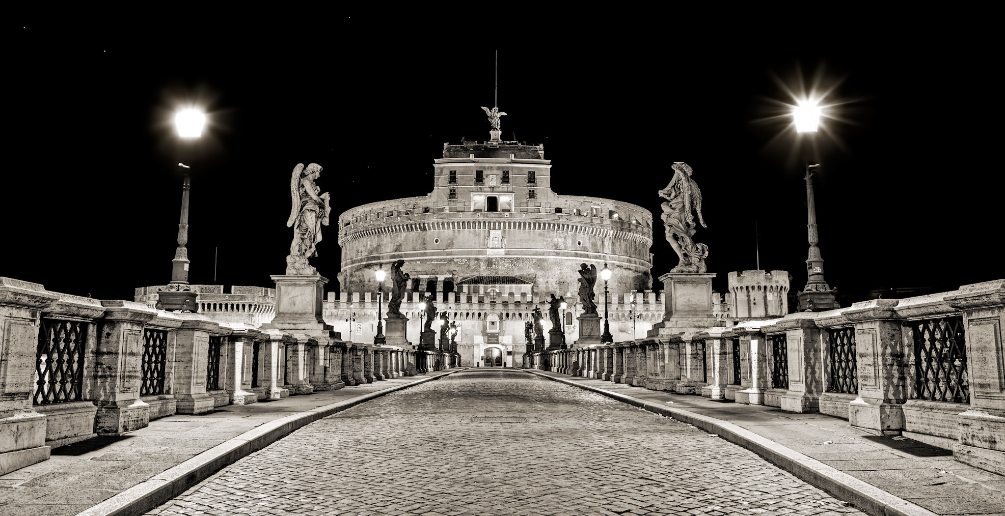 Photograph Castel Sant'Angelo, Rome by Stefano Di Chiara on 500px