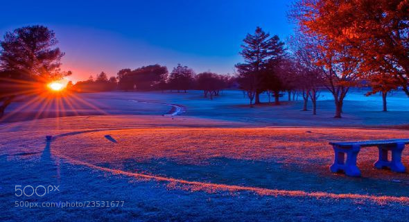 Photograph Wonderful winter Sunset  by Lincoln  Catch  on 500px