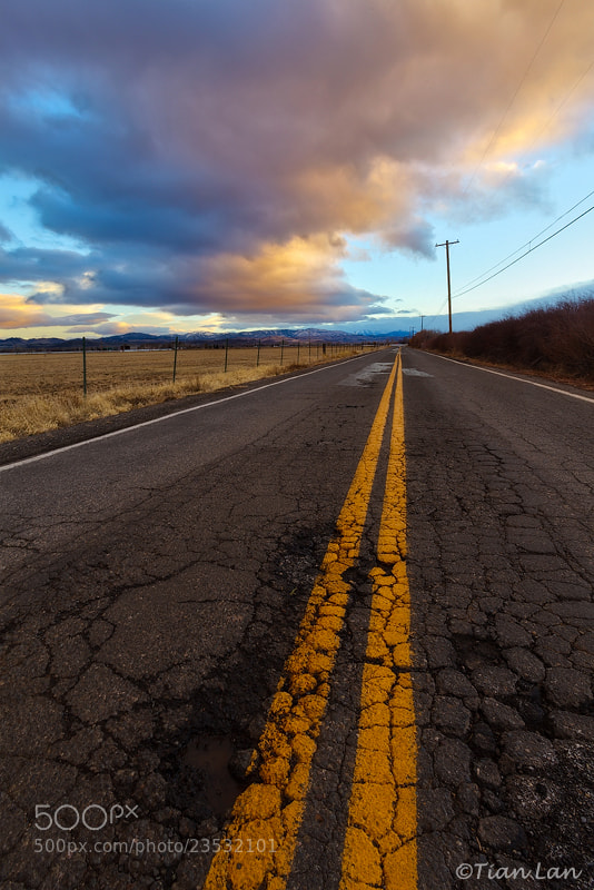 Photograph On the Road by Tian Lan on 500px