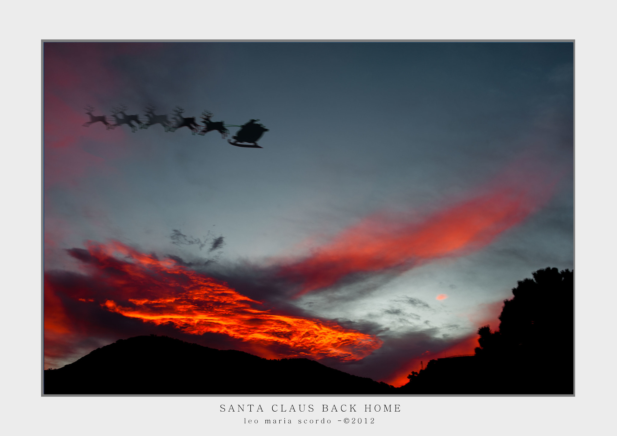 Photograph SANTA CLAUS BACK HOME by Leo Maria Scordo on 500px