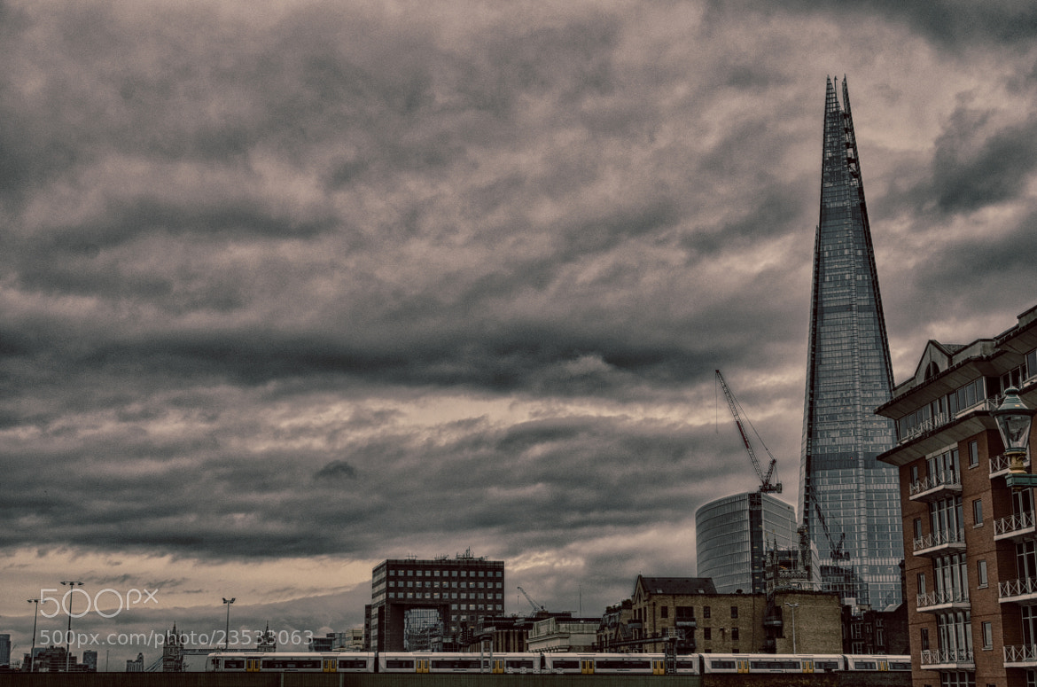 Photograph The Shard by Luca Marchesin on 500px