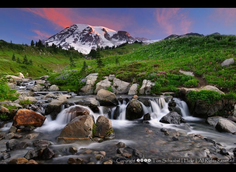 Photograph Mount Rainier Sunrise II by Tom Schwabel on 500px