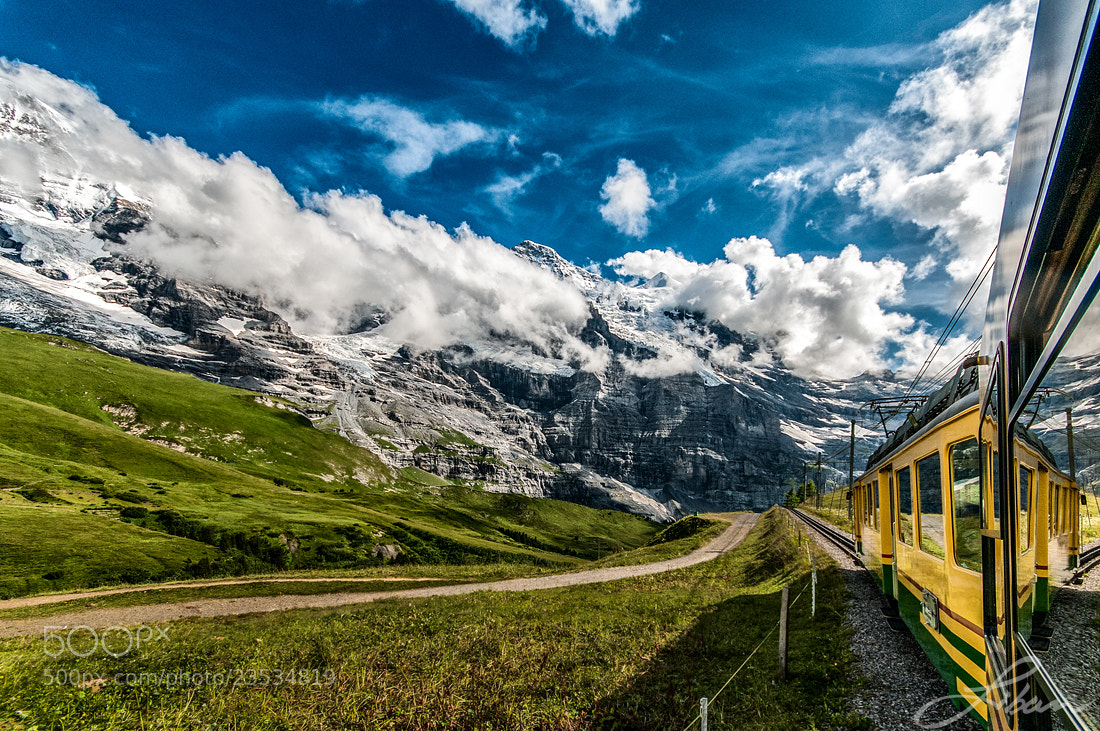 Photograph  Train ride by Liban Yusuf on 500px