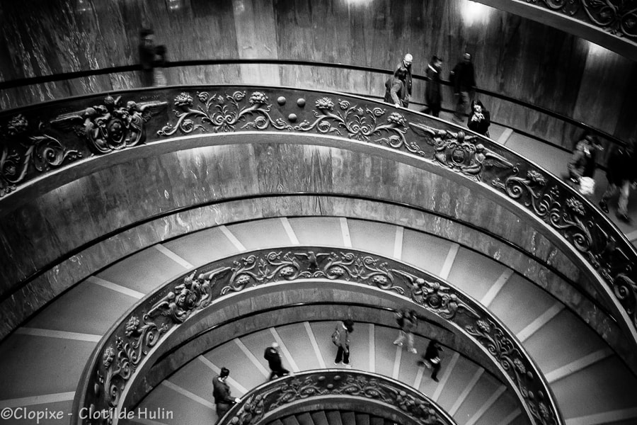 Photograph Round stair by Clotilde Hulin on 500px