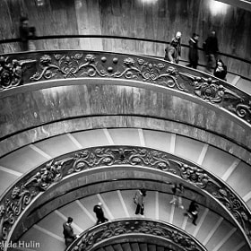 Round stair by  Clotilde Hulin (clopixe)) on 500px.com