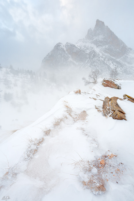 Photograph Snow storm on Falzarego by Marco Dian on 500px