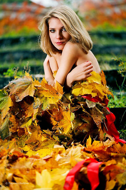 Photograph Lady autumn by Tatyana Gladilina on 500px