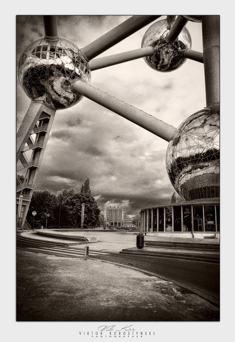 Photograph Atomium. Brussels by Viktor Korostynski on 500px