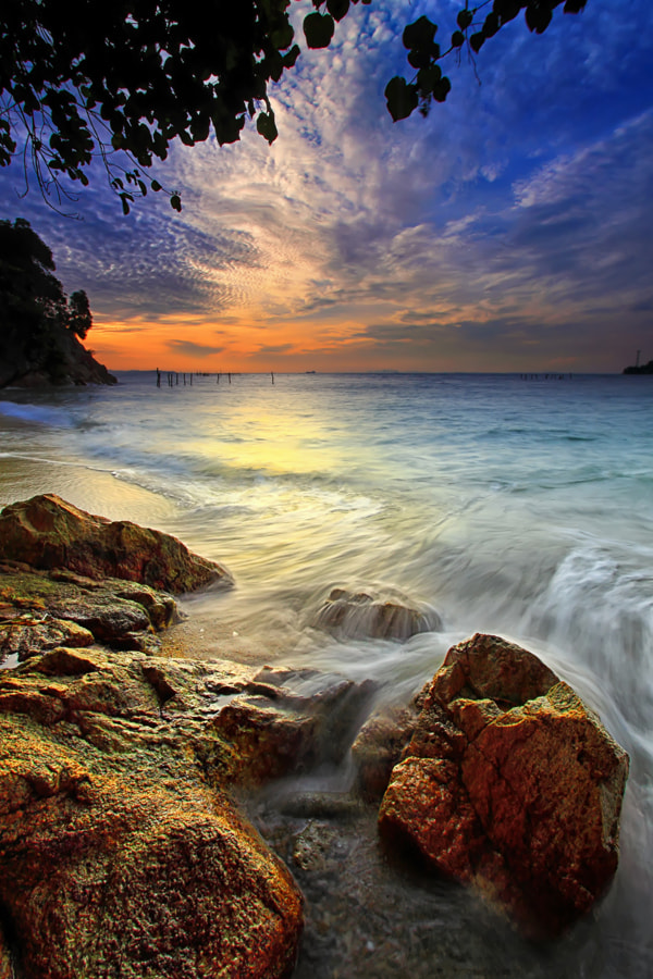 Photograph smooth wave by Danis Suma Wijaya on 500px