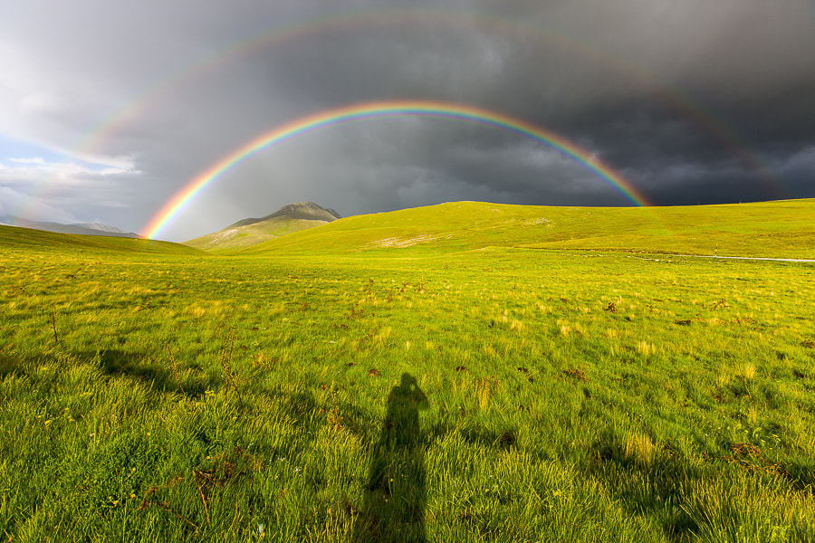 Photograph The Rainbow and the Photographer by Hans Kruse on 500px