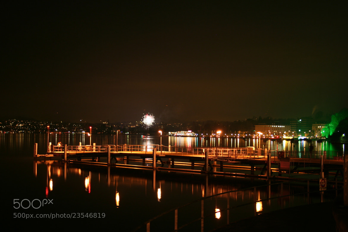 Photograph Night by Zurich Lake by Raghvendra Sharma on 500px