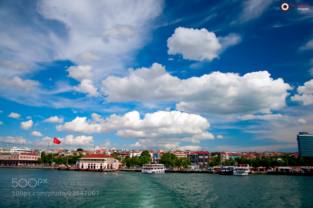 Photograph Mavi İstanbul / by Safa  Kaplan on 500px