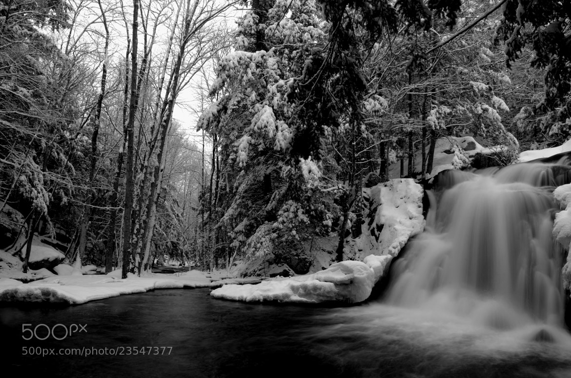 Photograph Black & White Falls by Jeff Fladen on 500px
