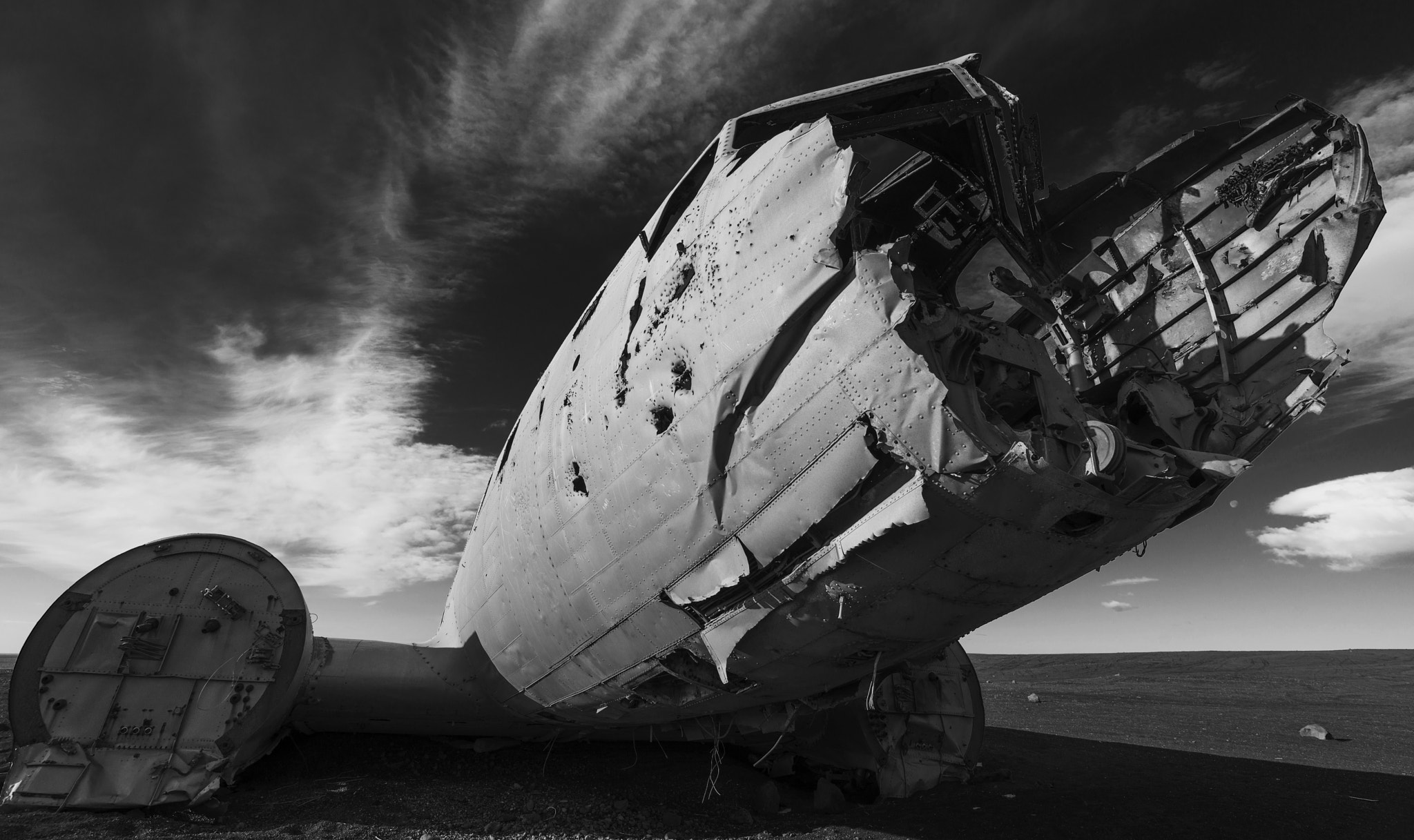 Photograph Beached Plane by Andrew Dickman on 500px