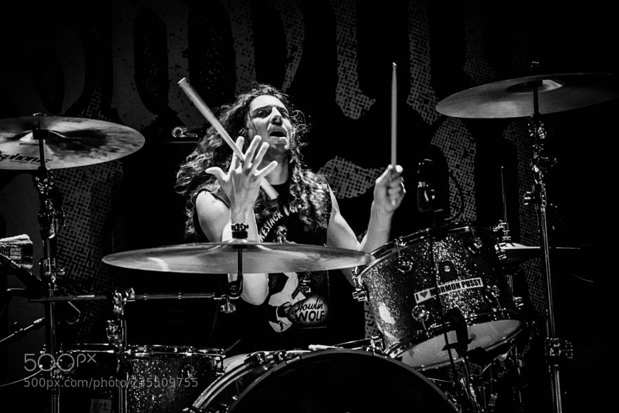 Drummer of Nashville Pussy