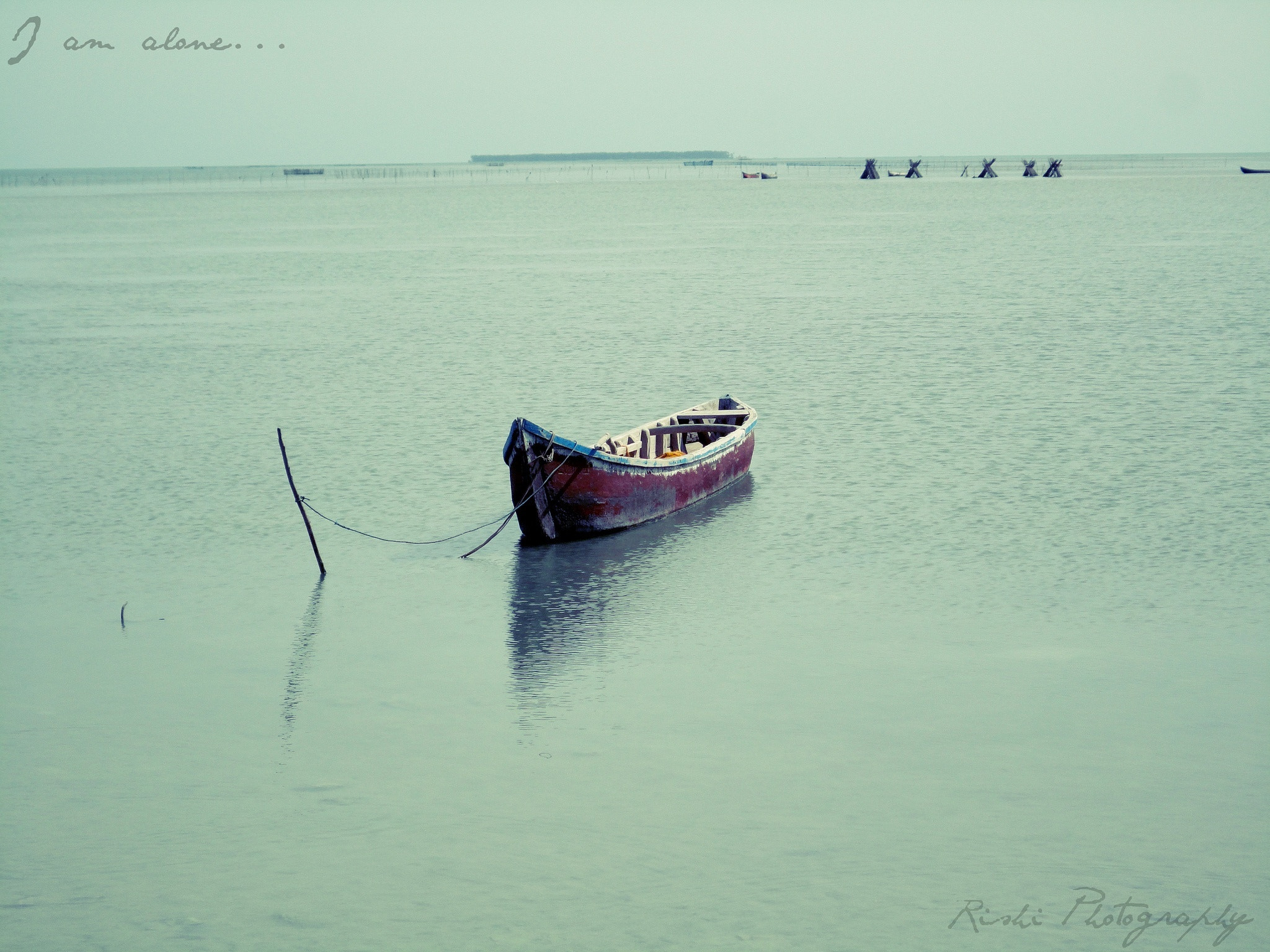 Photograph Alone|| Shallow Sea by Rishikeshan Pangushan on 500px