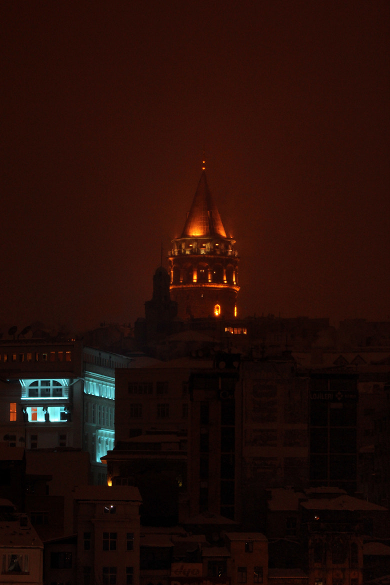 Photograph Galata ToweRed by Er Han on 500px