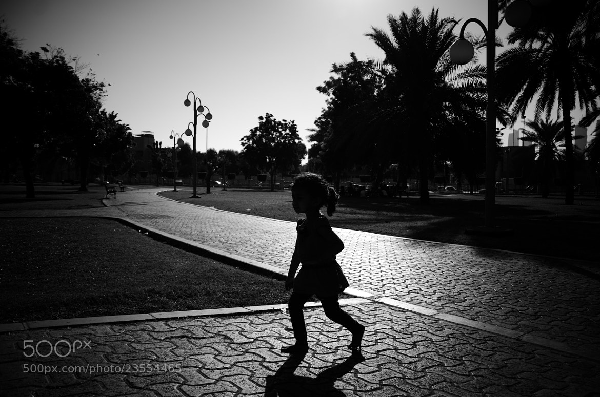 Photograph The girl who ran by Sharbeen Sarash on 500px