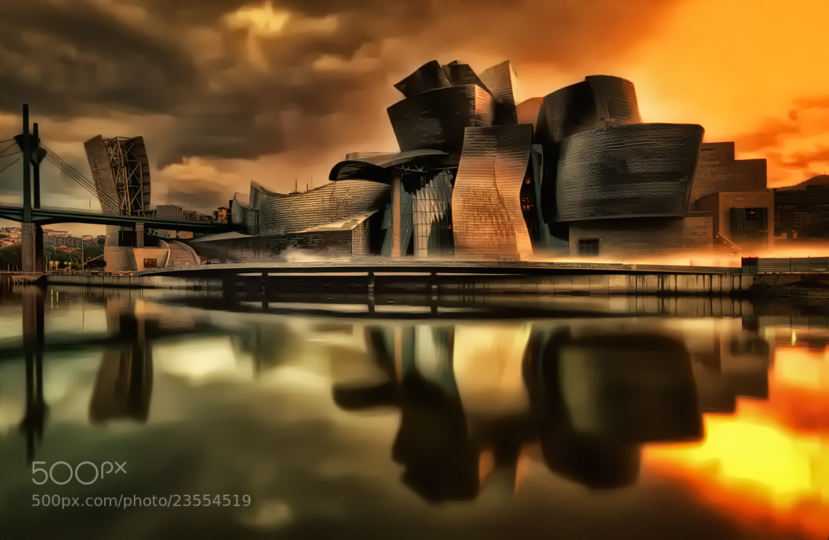 Photograph Museo Guggenheim by Jose Luis Mieza on 500px