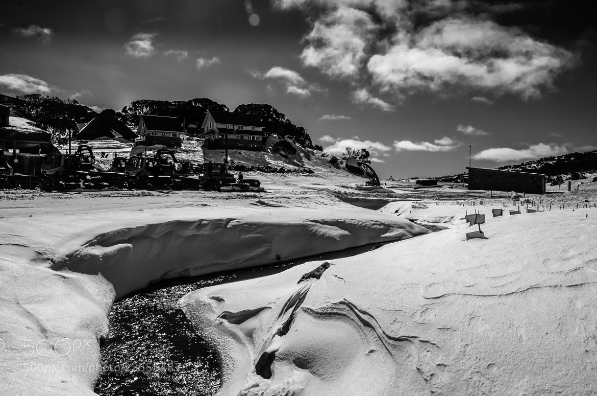 Photograph Melting Snow by Vinoth Kumar on 500px