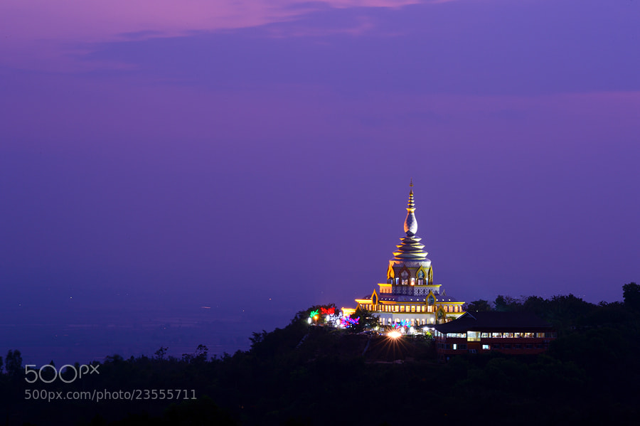 Photograph The Stupa by Surachai Chartsuwan on 500px