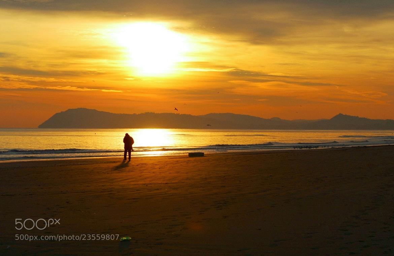 Photograph A spasso con l'alba. Rimini. by Urbinati Roberto on 500px