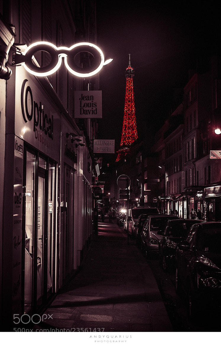 Photograph eiffel through a pair of lenses by Andy Quarius on 500px