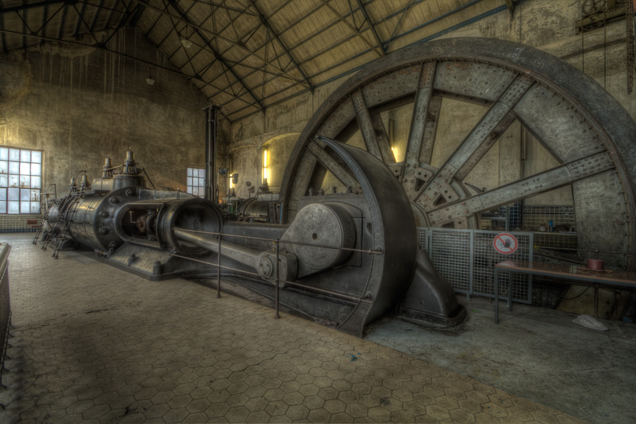 Photograph Zwillingsdampfturbine by Silke Stephan on 500px