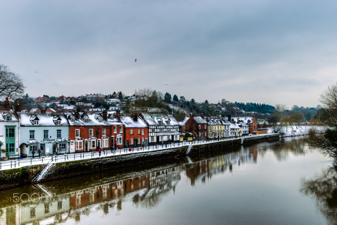 Photograph Snowy Bewdley by Richard Wise on 500px