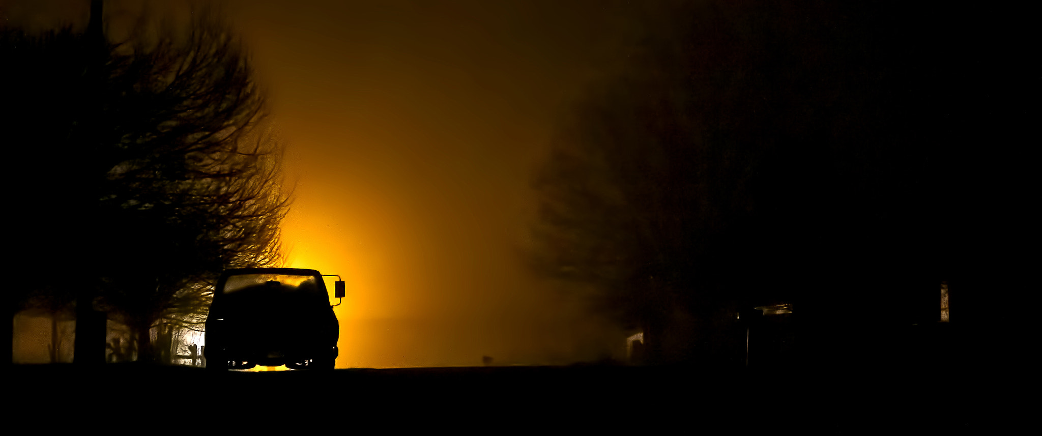Photograph Truck in the fog by Jonathan Goforth on 500px