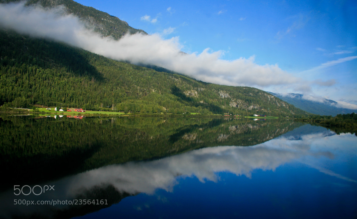 Photograph Reflecting Norway by Ryan Lanyon on 500px