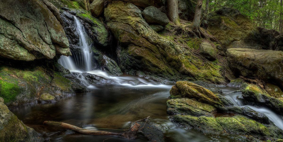 Photograph Buttermilk Falls HDR Pano by Thomas Malinski on 500px