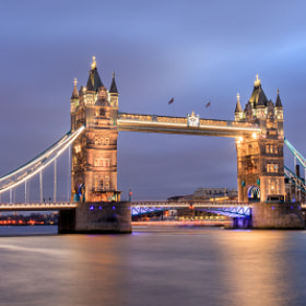 Tower Bridge,London by Helminadia Ranford (Helminadia_Ranford)) on 500px.com