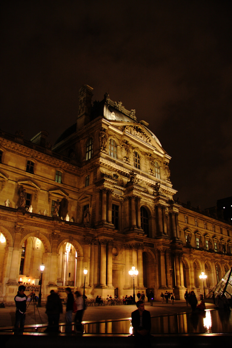 Photograph Night view of the Louvre Museum by YABU  on 500px