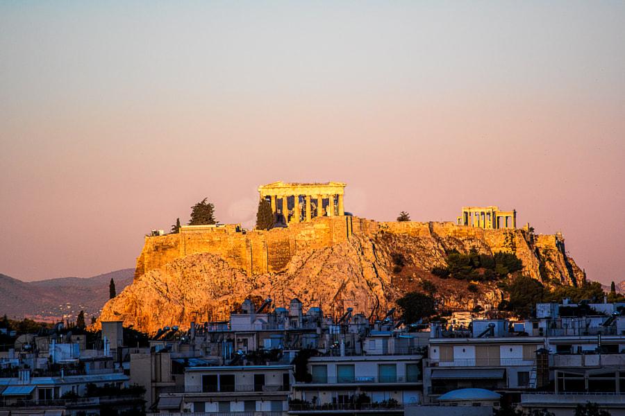 Sunrise on the Acropolis