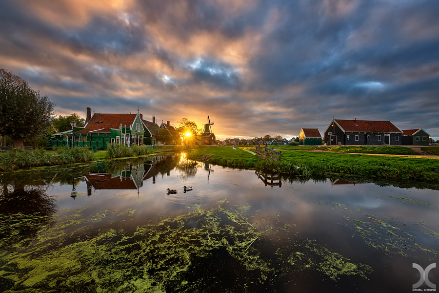 Pastoral Sunset by Daniel Cheong on 500px.com