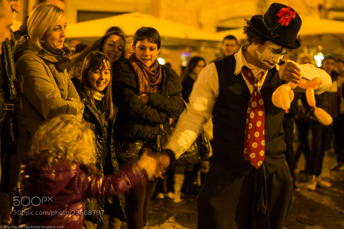 Photograph The street clown by Vivek Pandey on 500px