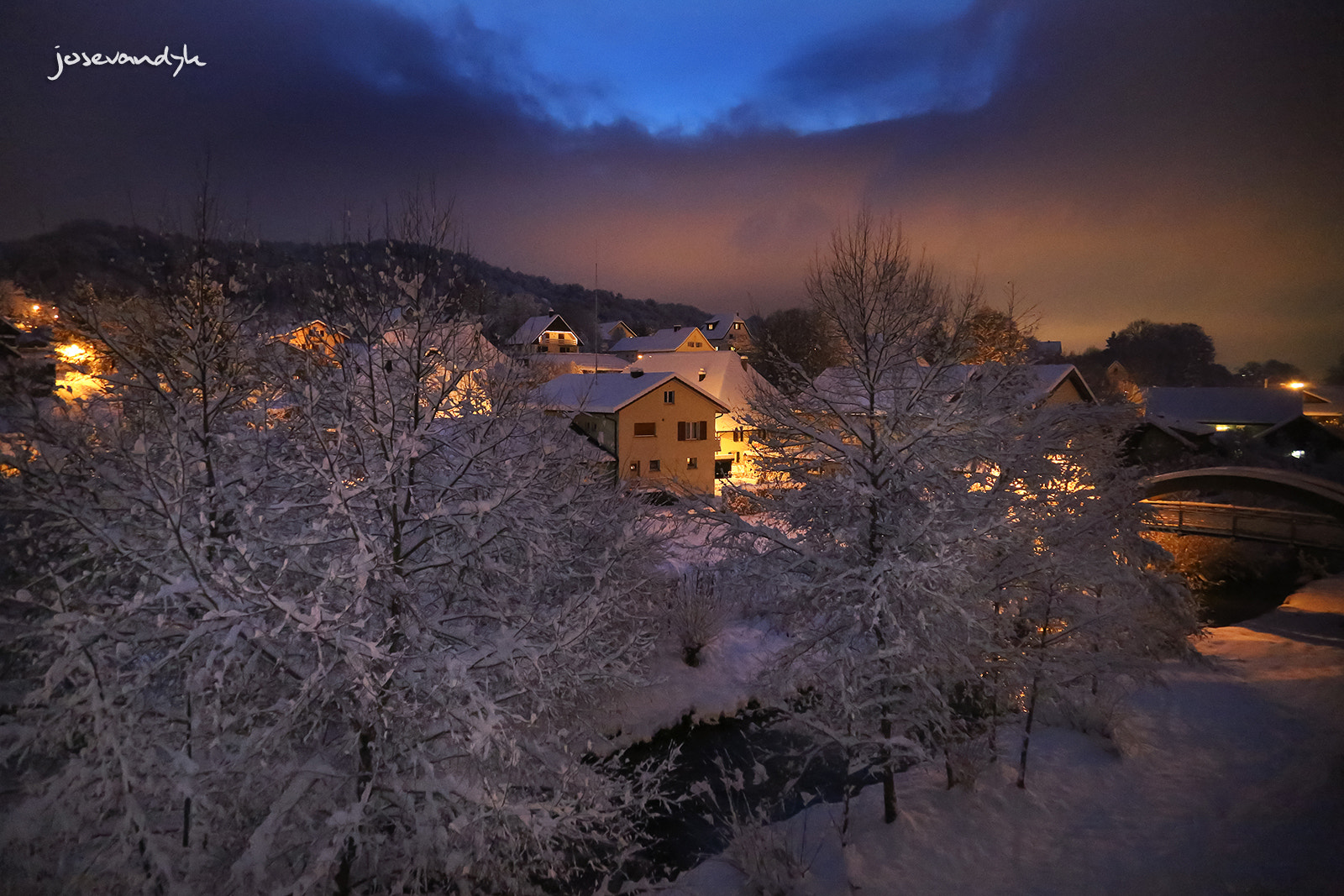 Photograph Winter village by Andy Beer on 500px