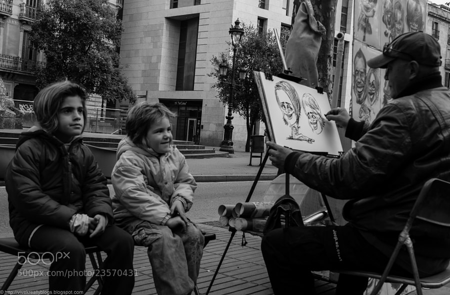 The artist and the muse by Vivek Pandey (pandeyvivek)) on 500px.com