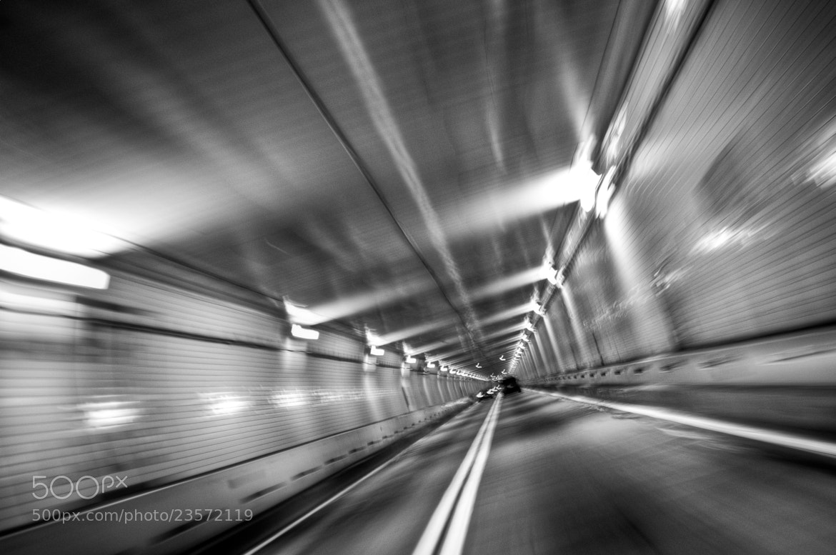 Photograph Tunnel by George Chino on 500px
