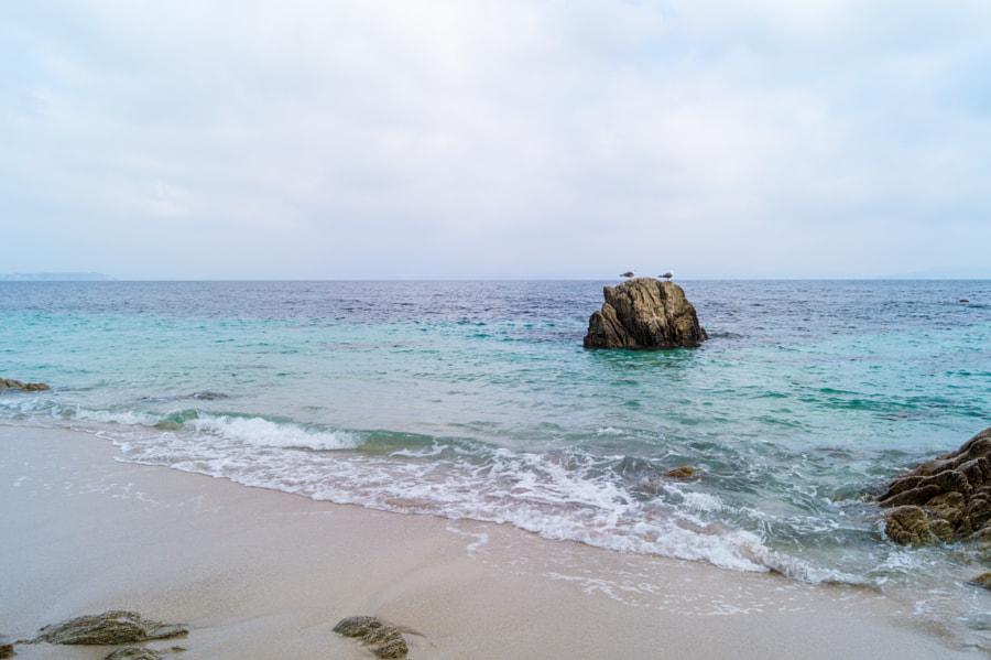 Praia de Melide, Ons
