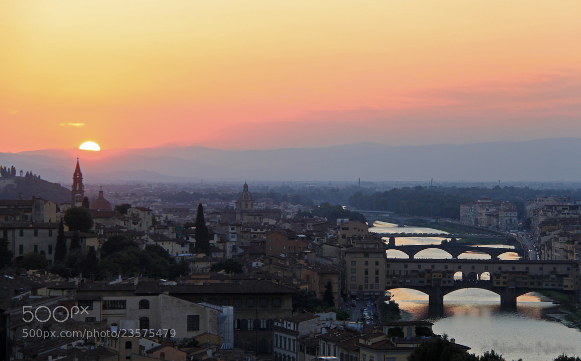 Photograph ATARDECER EN FLORENCIA II - SUNSET AT FIRENZE II by Nacho  Núñez on 500px