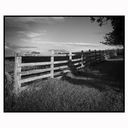 Farm fence, Braetarn, Cumbria
