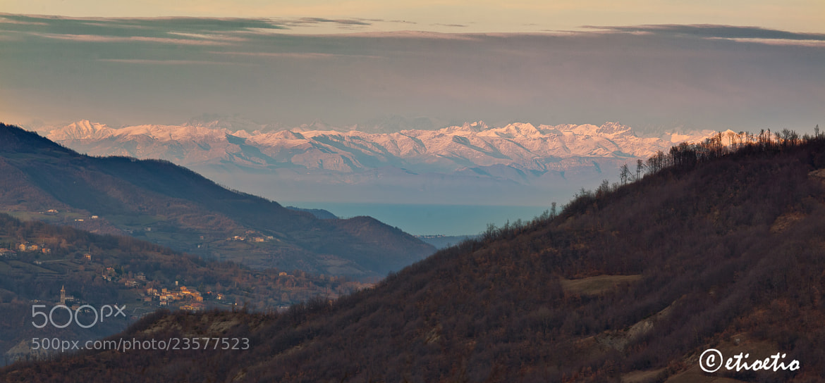 Photograph le Alpi in fondo alla val Nure by Ezio Molinari on 500px